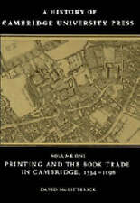 (Good)-A History of Cambridge University Press: Volume 1, Printing and the Book