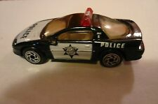 Matchbox Chevrolet Camaro Z28 Police Vehicle-LOOSE