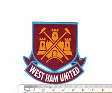 kiTki West Ham soccer football team iron-on embroidered patch emblem applique