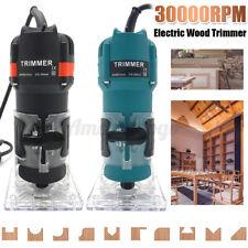 Condensador de ajuste eléctrico de mano Router Madera 2300W Laminado Palm Carpinteros Corte De Trabajo