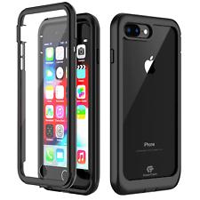 Para Apple iPhone 7/8 Plus Carcasa protectora a prueba de choques impermeable con protector de pantalla
