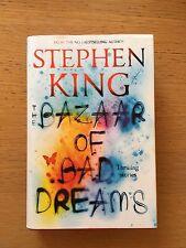 Stephen King hardback Bazaar of Bad dreams UK 1st edition VGC