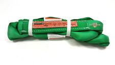 Green Endless Polyester Round Sling Tubular 3 Long