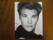 Hayley Barr Guiding Light/As the World Turns Signed 7 X 9 B & W Photo