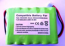 YALE HSA6400 CONTROL PANEL COMPATIBLE ALARM BATTERY 60AAAH6BMJAAA 802306063H