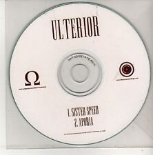 (AK772) Ulterior, Sister Speed / Aporia - DJ CD