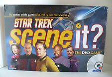Star Trek Scene It? Mattel Trivia DVD & Board Game. New in Box