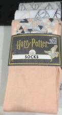 Harry Potter Socks 3pk Deathly Hallows Size 4-8UK Adult Official