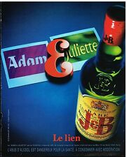 Publicité Advertising 2001 Scotch Whisky J&B