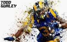 NFL Football 2 x 3FT Photo Print Poster TODD GURLEY Poster G
