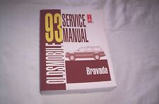 93 OLDSMOBILE  BRAVADA  SERVICE  MANUAL --Check This Out--