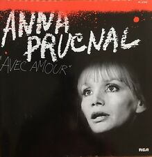 Anna Prucnal - Avec Amour - Vinyl LP 33T (Dédicacé par l'artiste)