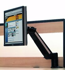 """TV Stand Monitor Arm Table Desk Mounted Black 13"""" to 21"""" Camper Caravan Boat"""