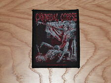 CANNIBAL CORPSE - TOMB BODIES (NEW) SEW ON W-PATCH OFFICIAL BAND MERCHANDISE