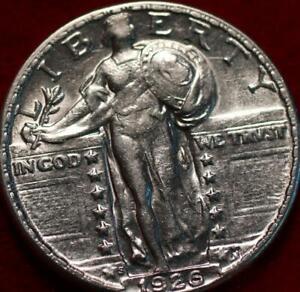 Uncirculated 1926-S San Francisco Mint Silver Standing Liberty Quarter