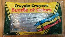 Vintage 1986 Crayola Metallic Gold Copper Silver Crayons Bundle of Colors Binney