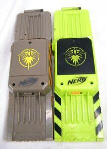Nerf N-Strike Elite Firefly Light Up 18 Round Dart Clip Magazine Lot of 2 Used