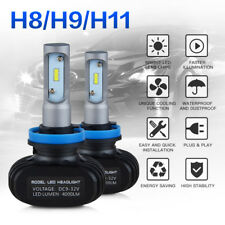 H8 H11 LED Headlight Bulbs Low Beam For Chevrolet Malibu 2007-2015 Camaro 14-16