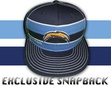 SAN DIEGO CHARGERS RETRO VINTAGE CLASSIC THROWBACK STRIPED SNAPBACK HAT