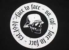 L * nwot FACE TO FACE t shirt * punk fat wreck chords vagrant vtg