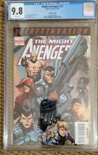 MIGHTY AVENGERS #13 CGC 9.8 (2008) HTF 2ND PRINT VARIANT 1ST SECRET WARRIORS 🔥