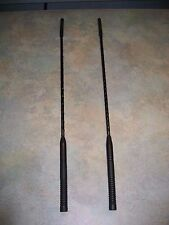 HARLEY-DAVIDSON BOOM Short Antenna bundle: 76386-09 CB & 76388-08 AM/FM :18 3/4""