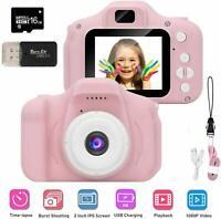 2,0'' Kinderkamera Digitalkamera 800W mit 16GB TF 1080P Foto Video Camera