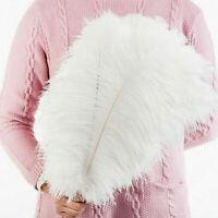 10-50 Pack 25-35cm Large Ostrich Feathers Plume Craft Centerpiece Wedding Decor