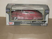 Motor Max American Classics 1948 Chevy Aerosedan Fleetline 1:24 Scale
