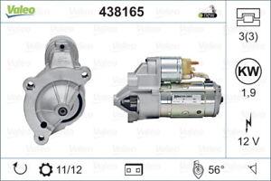 Valeo Starter Motor 438165 fits Citroen DS4 2.0 HDi 165 (120kw)