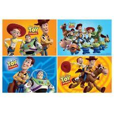 4 Disney Toy Story Cumpleaños Fiesta Botín favores Jigsaw Puzzle Juegos Juguetes