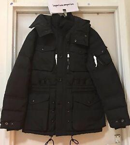 Men's Polo Ralph Lauren Q-Smock Down Jacket Black Size Small (S)