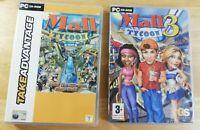MALL TYCOON 1 & 3 Windows Retro PC CD-ROM games bundle