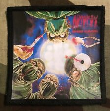Autopsy Severed Survival Printed Patch A056P Carcass Napalm Death Entombed