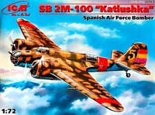 Tupolev SB 2 M-100 Katiushka (español republicano & nacionalista MKGS) 1/72 ICM