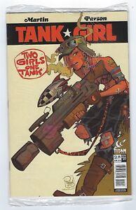 TANK GIRL 2 girls 1 tank #1 Titan comics 2016,Poly bagged Nerd Block edition