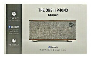 Klipsch The One II Phono Turntable Bluetooth Tabletop Speaker  - New