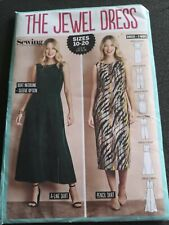 The Jewel Dress Simply Sewing Pattern Uncut sizes 10-20