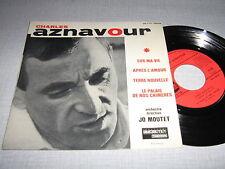 AZNAVOUR EP FRANCE SUR MA VIE