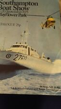 Southampton Boat Show Catalogue  1975