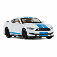 Ford Mustang Shelby GT350 1/32 Model Car Diecast Gift Toy Vehicle Kids White