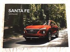 2019 HYUNDAI SANTA FE 16-page Original Sales Brochure