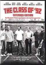 CLASS OF '92 EXTENDED EDITION, DVD, DAVID BECKHAM MANCHESTER UTD SOCCER Players