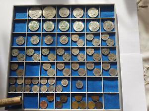 Konvolut Dollar, Half Dollar , Quarter Dollar, Five Cent, One Dime und One Cent