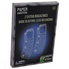 PAPER SHOOTERS 2er PACK EXTRA MAGAZINE TACTICIAN GREEN SPIT BAUSATZ