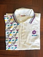 Maglia lotto polo shirt trikot jersey camiseta size S 100% cotton