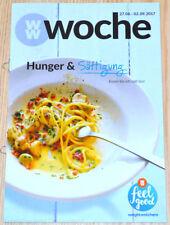 Weight Watchers Feel Good Woche 27.8 - 2.9 SmartPoints 2017 Wochenbroschüre NEU