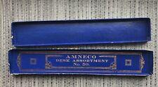 VINTAGE Pencil Box Antique Pen Box American News Co Amneco