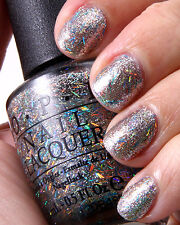 OPI Nicki Minaj SAVE ME Holographic Rainbow Bar Glitter Nail Polish Lacquer N17