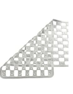 Supertex Home Clear PVC Shower Mat With Suction Pads 500x510mm GTCLRPVCSM